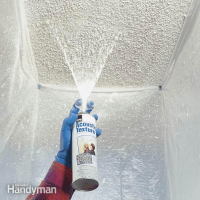 remodeling - How should I patch a popcorn ceiling? - Home ...