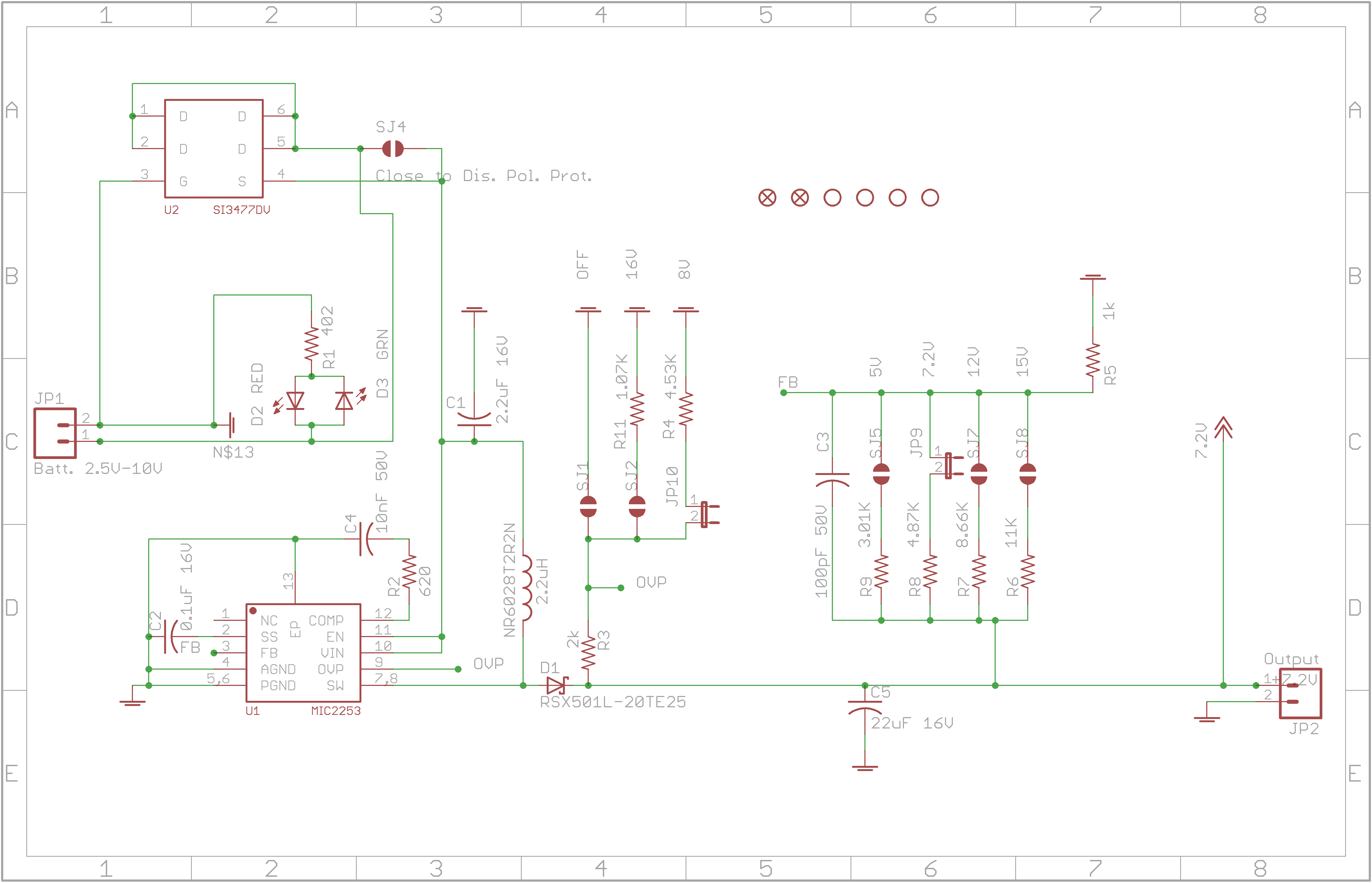 what is causing large oscillations in my dc dc boost converter is