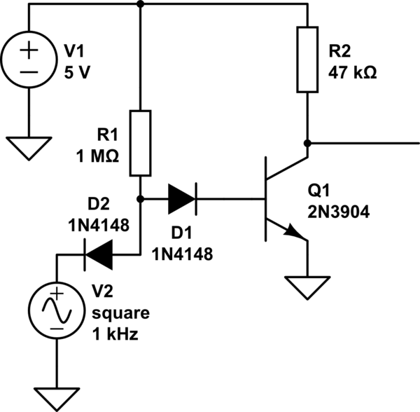 nand gate using diode circuit dtl