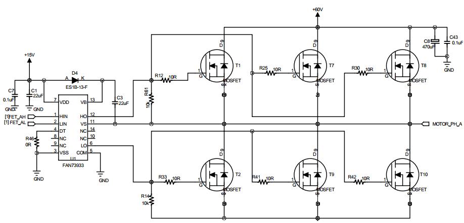 circuit diagram of parallel inverter