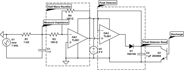 capacitance calculation electrical engineering stack exchange