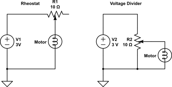 rheostat wiring diagram of motor control