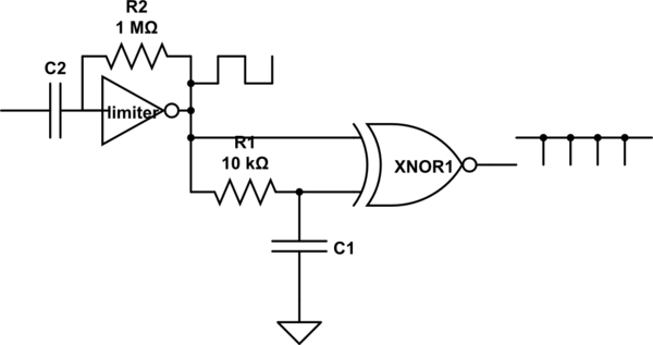 hysteresis comparator simulink schematic