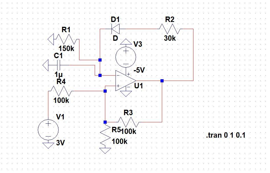 comparator circuit operational amplifier opamp circuit design