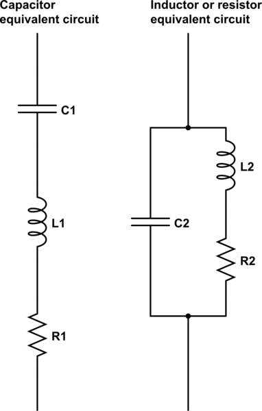 resistors and capacitors in a circuit for capacitor circuit png