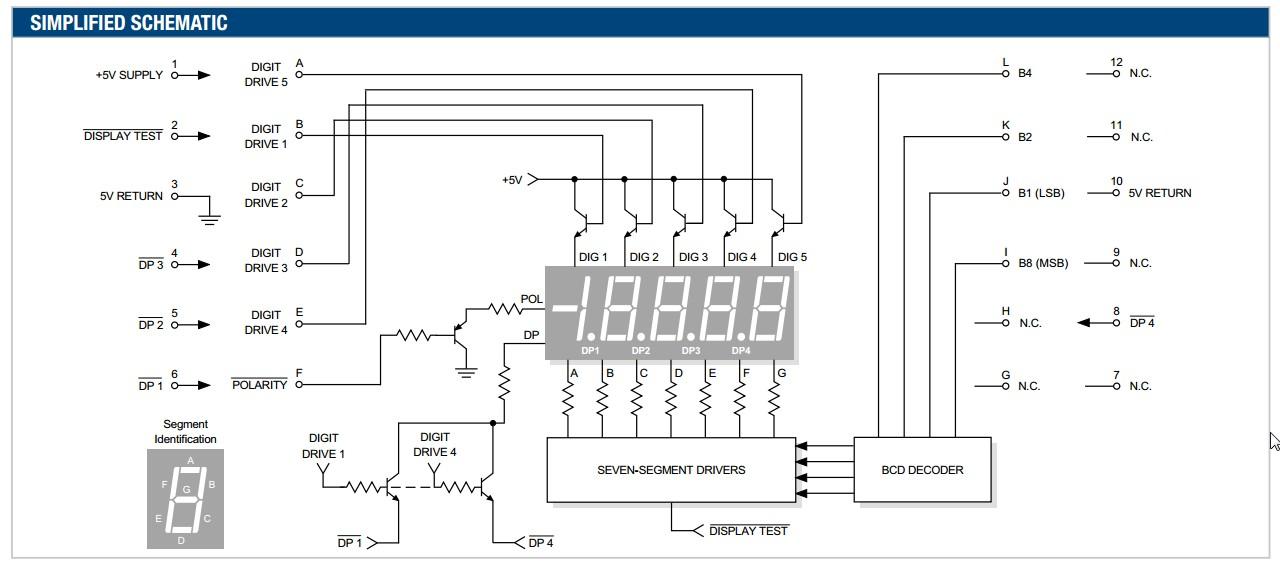 7segmentdisplay - How to convert BCD to multi-digit 7-segment