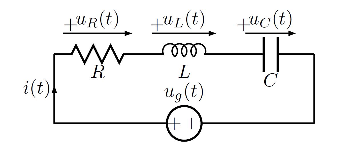 phasor diagram of series rlc circuit