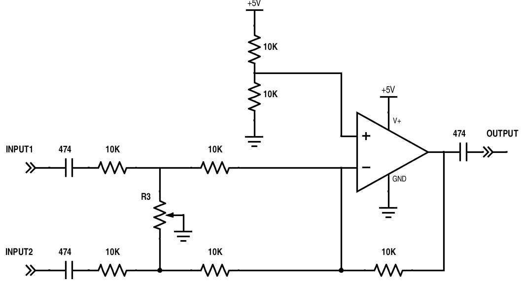 op amp audio circuits