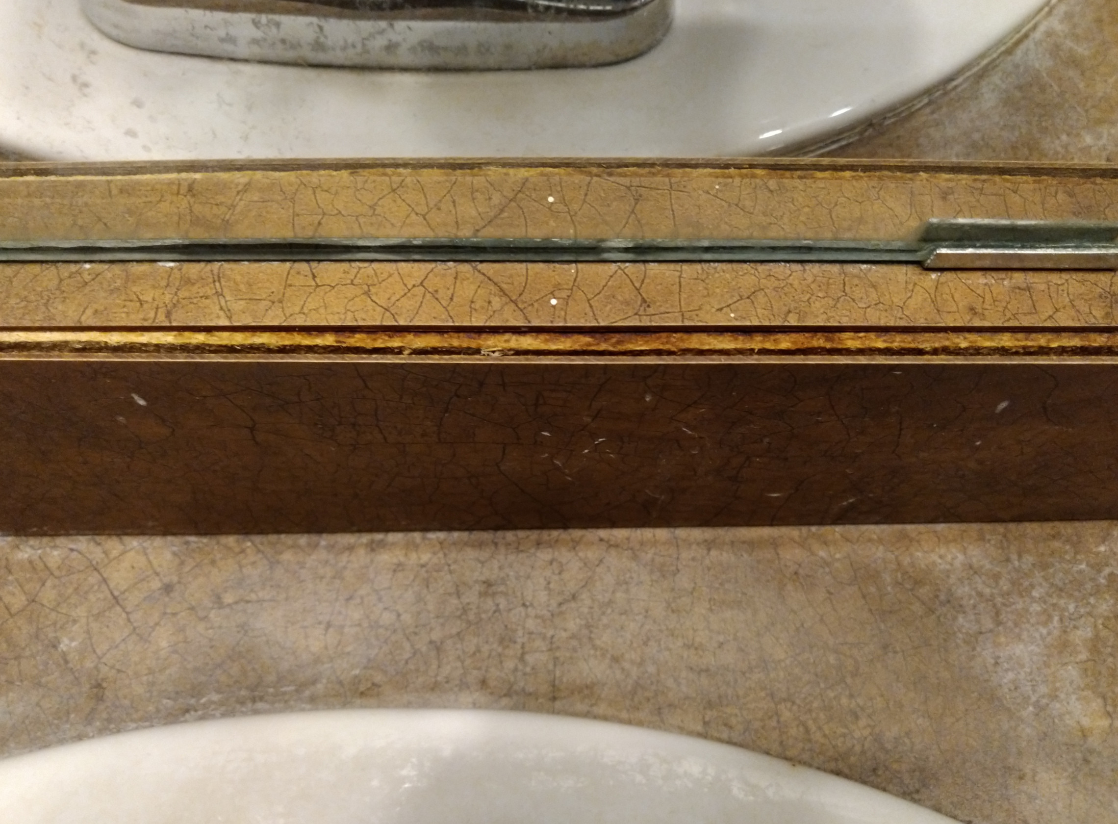 How Can I Repair Replace This Swollen Section Of Countertop Home Improvement Stack Exchange