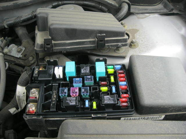 Honda Civic Hybrid Fuse Box Wiring Diagram