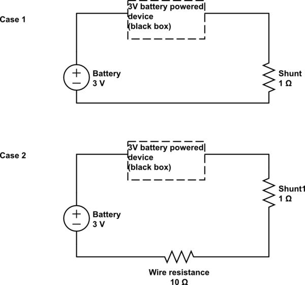 current measuring circuit schematic