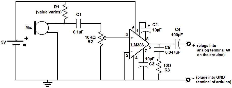 sound detection circuit youtube