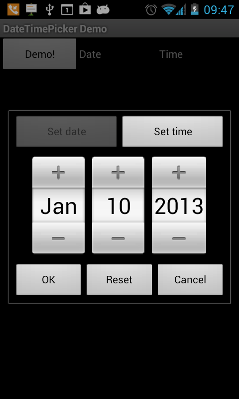 How Do I Create A Google Calendar Sign Google Android Date And Time Picker Dialog Stack Overflow