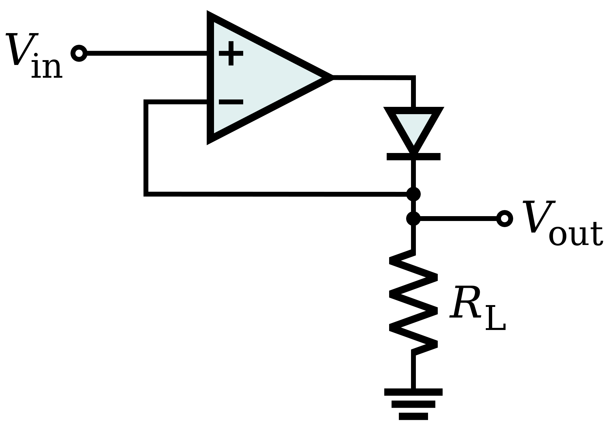 signal diodes in series