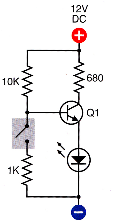 home 555 motion detector alarm circuit