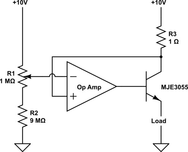 op amp current source circuit