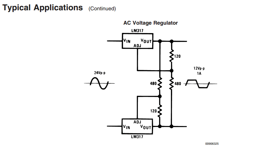 integrated circuit voltage regulator