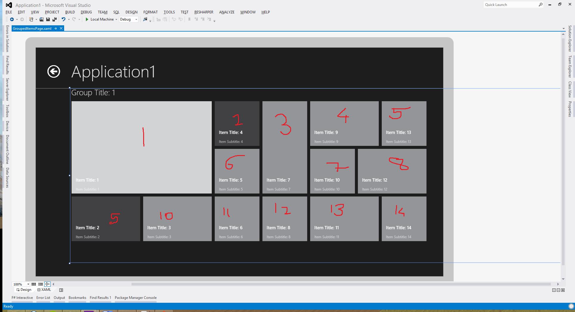 windows 8 app templates