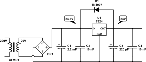 step voltage regulator schematic diagram