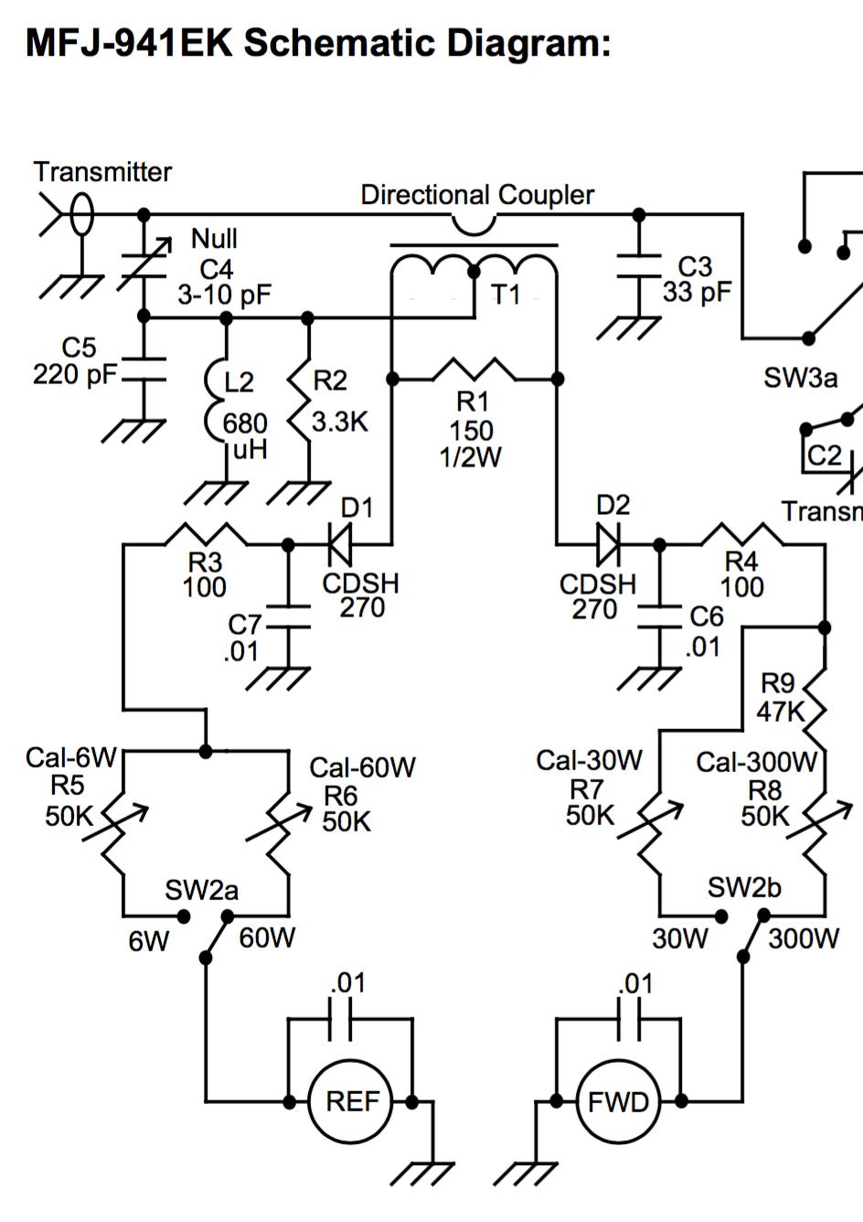 rf coupler schematic