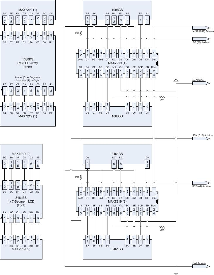 diagram - How to create a circuit drawing that allows easy mapping