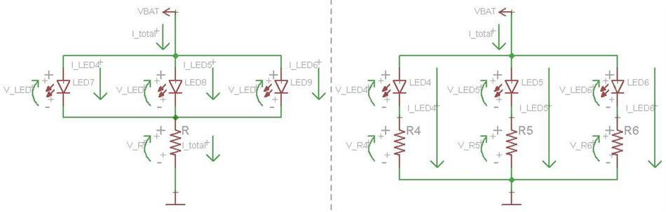 batteries - Wiring 3v LEDs, what size battery? - Electrical