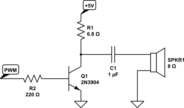 circuit 2n2222 for headphone amplifier