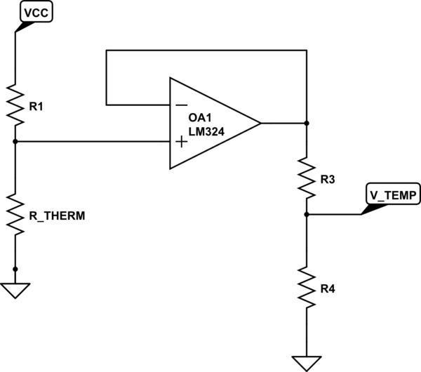 diagram of thermistor