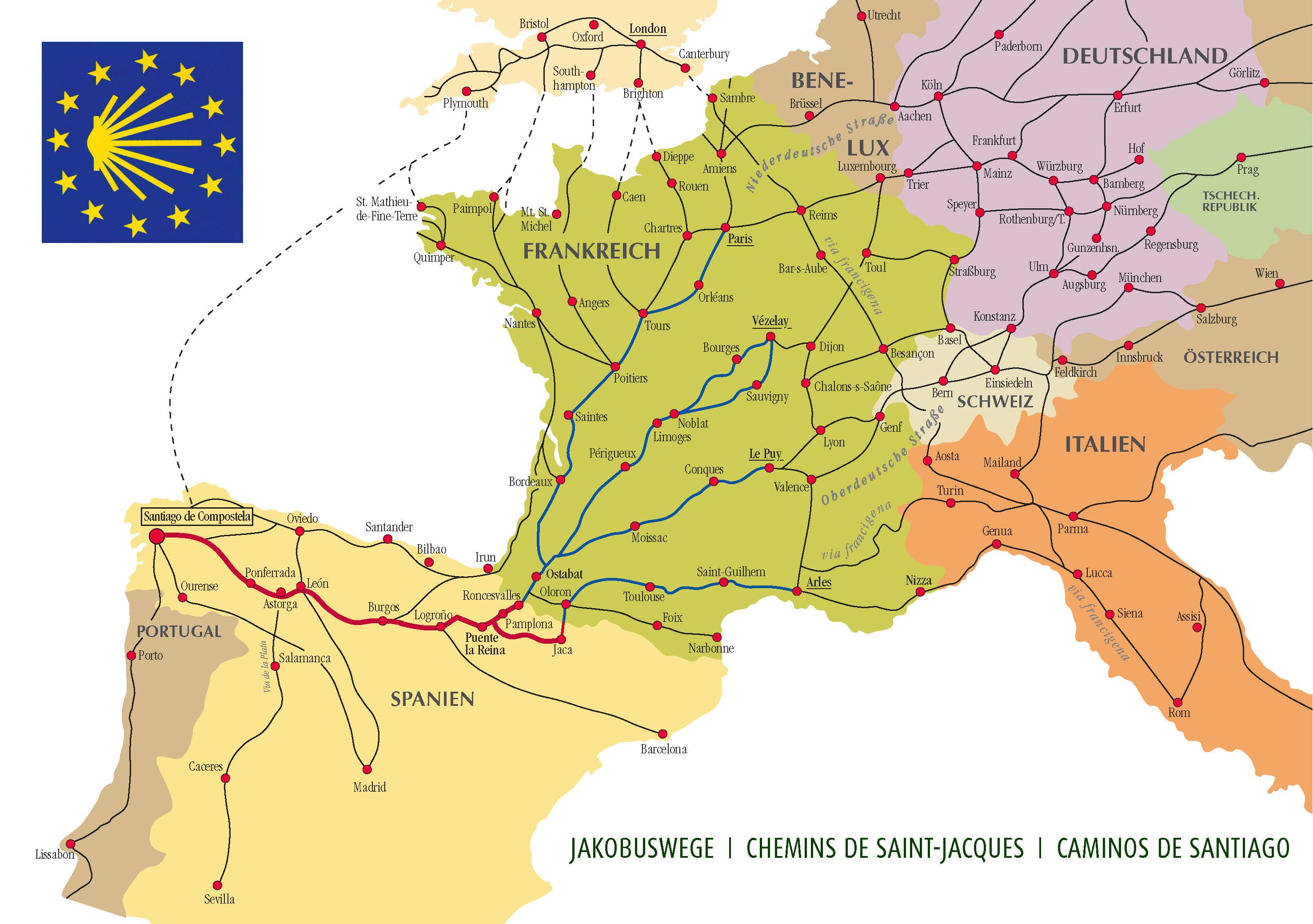 Camino Santiago Route Planner Are There Any Websites Or Resources For Planning Bicycle Routes