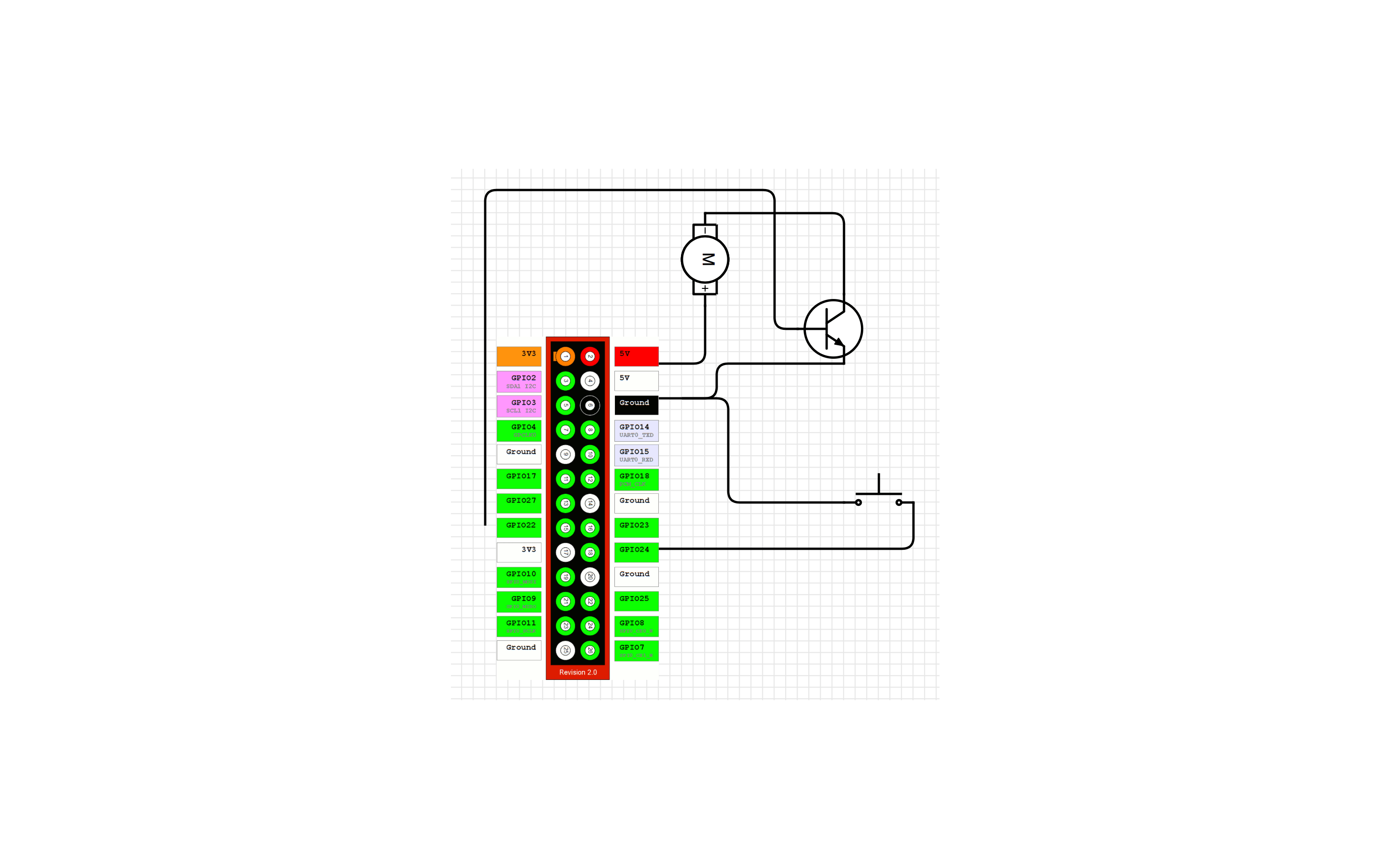 circuit diagram raspberry pi 2