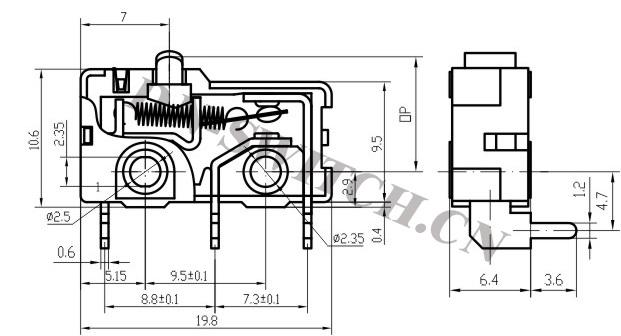 Micro Switch Diagram - Wwwcaseistore \u2022