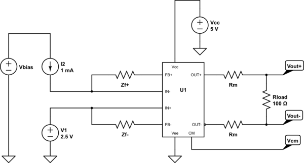op amp differential amplifier like the one in the picture