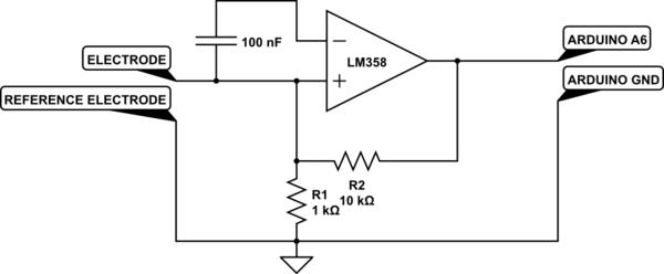 emg amplifier circuit