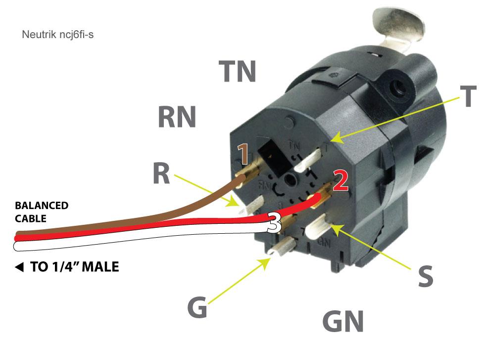 1 4 Jack Wiring Diagram - Wiring Data Diagram