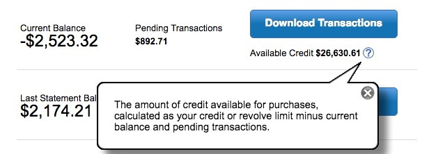 Can I increase my credit limit by transferring money to my Credit