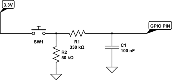 switch debounce schematic