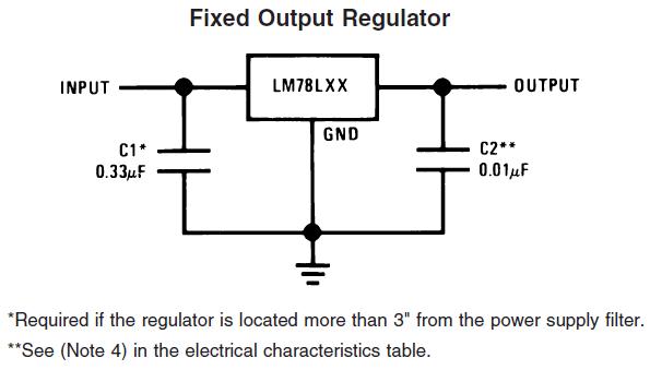 voltage regulator 5v and 33v power supply electrical engineering