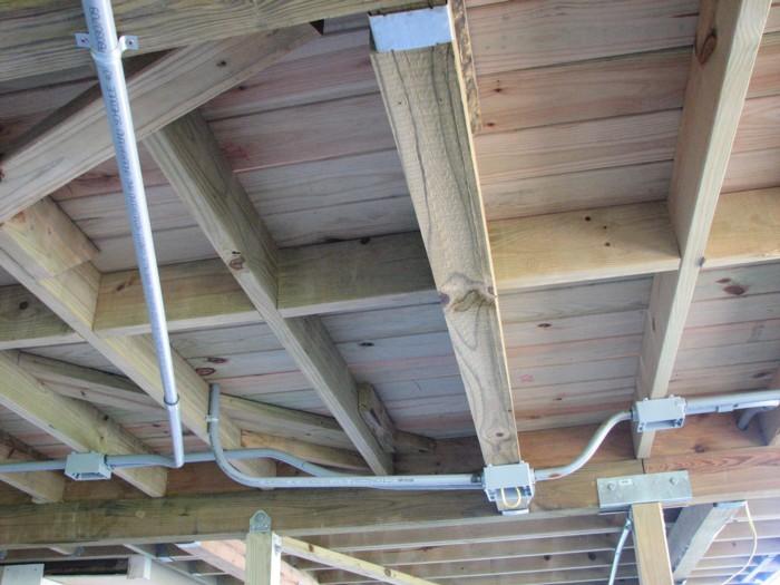 Electrical wiring under deck - Home Improvement Stack Exchange