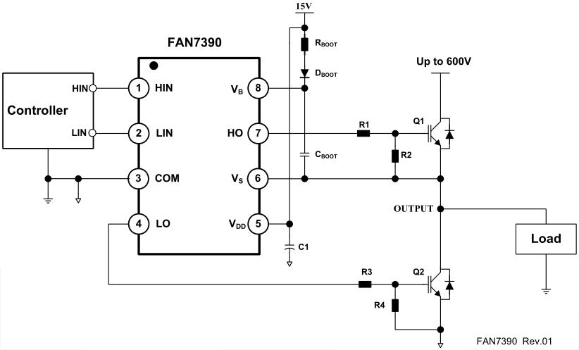 typical mosfet inverter circuit diagram