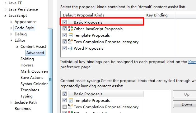 how to edit javascript content assist proposal in eclipse? - Stack