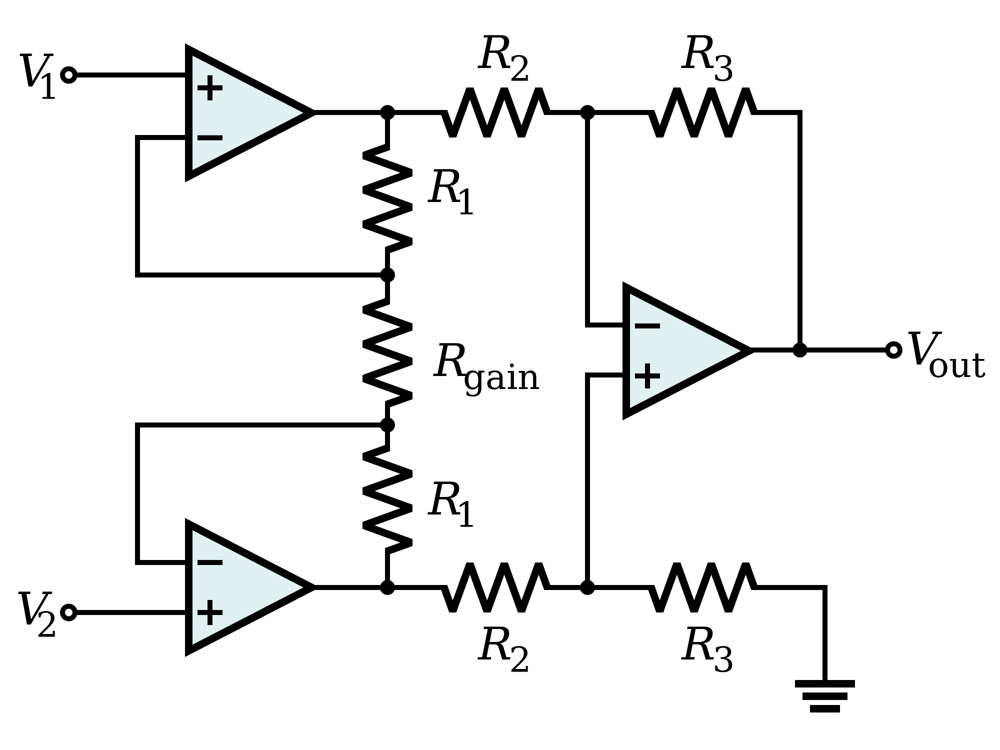 an instrumentation amplifier electrical engineering stack exchange
