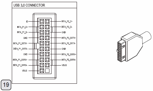 usb connections diagram
