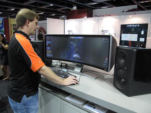 2 Monitor Wallpaper Hd Widescreen Where Are The Wraparound Gaming Monitors