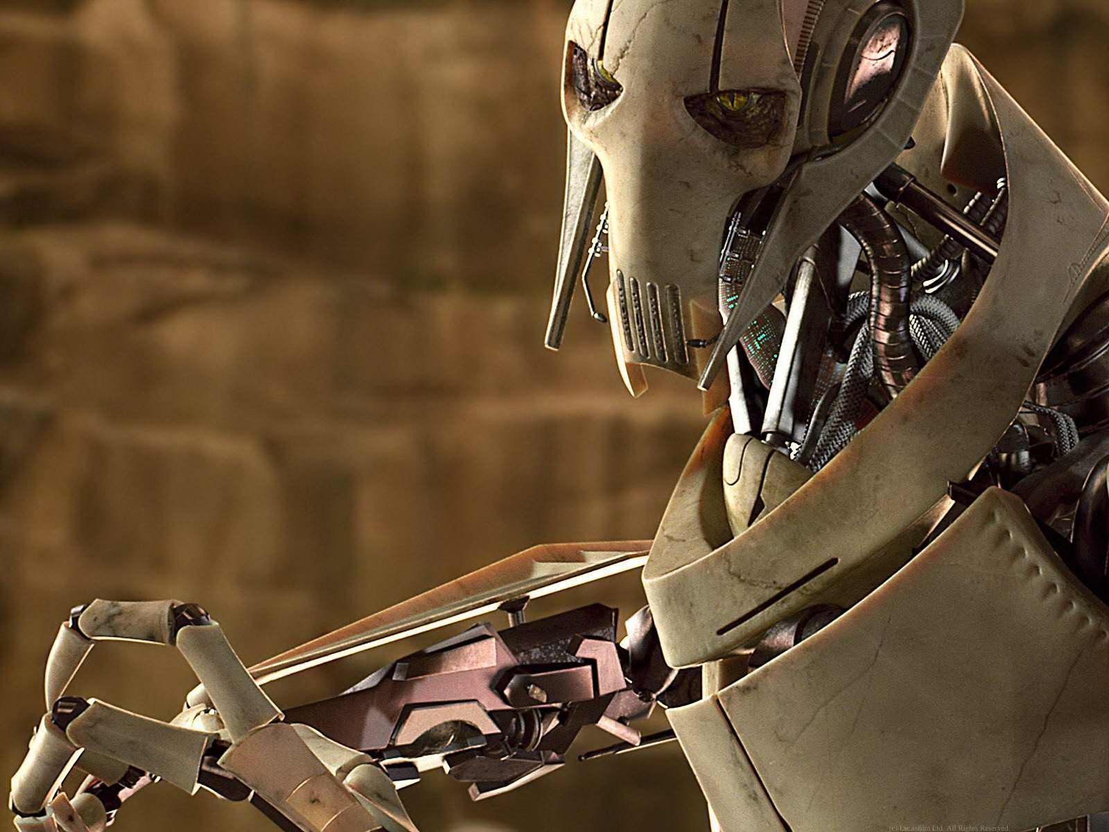 Lego Star Wars Wallpaper Hd Why Does General Grievous Face Mask Have 3 Audio Holes At