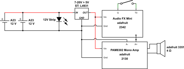 26 led circuit parallel