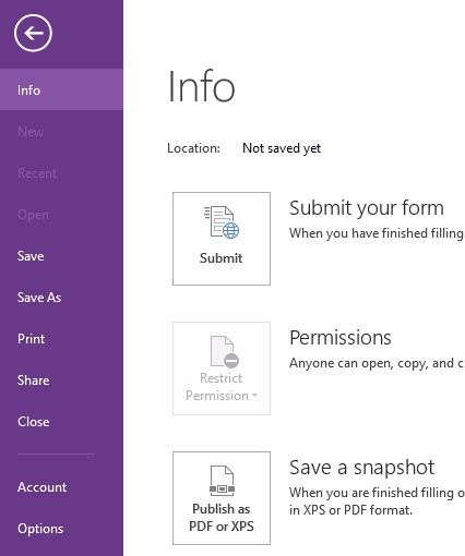 sharepoint designer - InfoPath Preview to PDF - SharePoint Stack