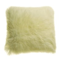 Auskin Longwool Sheepskin Pillow - 18 Square - Save 50%