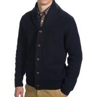 Mens Cardigan And Shawl Collar - Sweater Vest