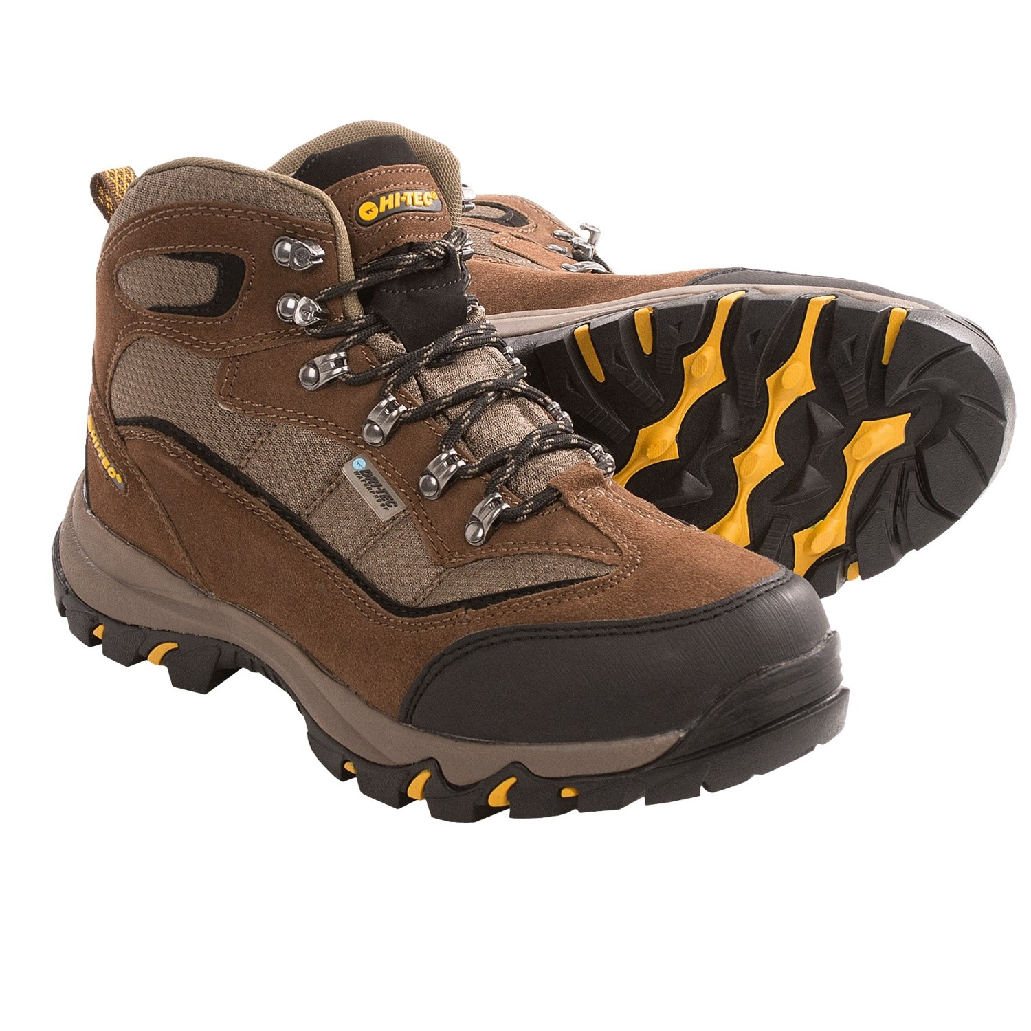Hi Tec Com Hi Tec Skamania Mid Hiking Boots Waterproof Suede For Men