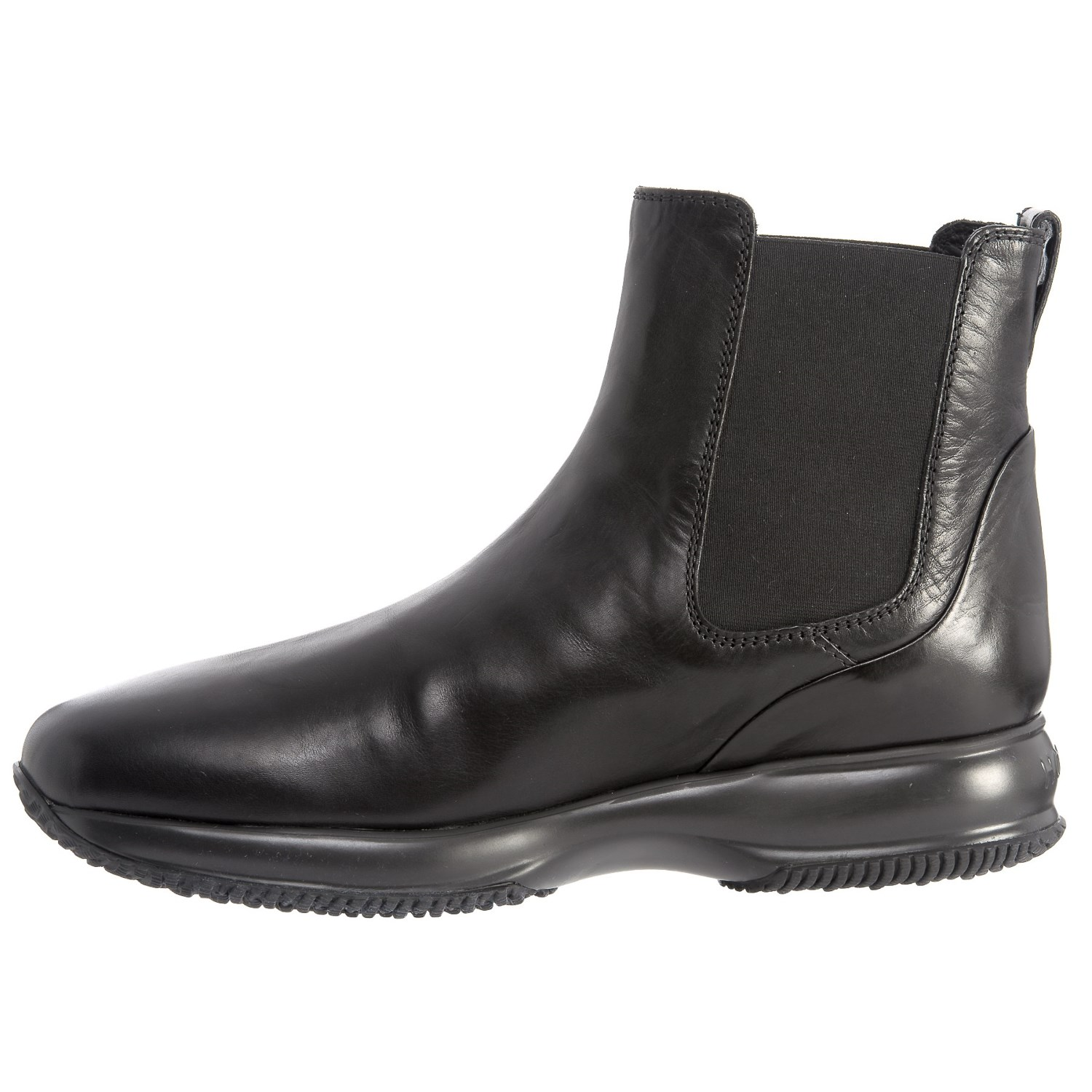 Hogan Shoes Hogan Made In Italy Tall Chelsea Boots Leather For Men